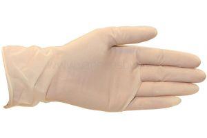 Handschoen latex, gepoederd, Medium, 100st