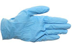 Handschoen nitril, ongepoederd, Large, 100st