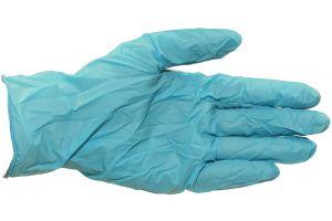 Handschoen nitril, extra dik, ongepoederd, Medium, 100st