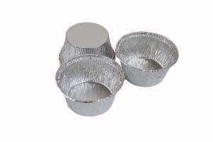 Aluminium schaal, 80x56x34mm, 110ml, 100st