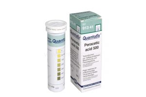 Quantofix, perazijnzuurtest, 0-500mg/l, 100 strips