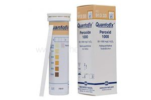 Quantofix, peroxidetest, 50-1.000mg/l, 100 strips