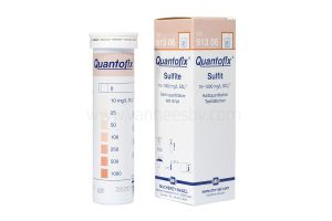Quantofix, sulfiettest, 0-1.000mg/l, 100 strips