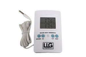 Thermometer min/max, digitaal, -50 tot +70◦C, met buitensensor