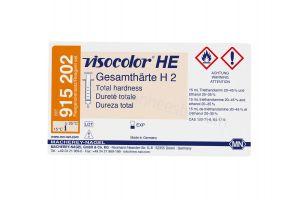 Visocolor test kit, hardheidstest H2, 0.05-2°DH, refill pack, 200 tests