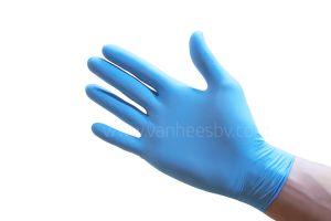 Handschoen nitril, extra dik, ongepoederd, Large, 100st
