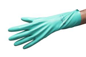Handschoen nitril, extra, Sol-vex(C), 330mm, Large=9, VE=2st