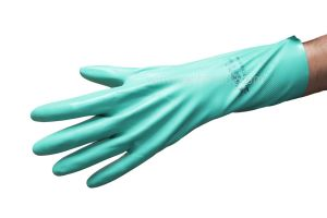 Handschoen nitril, extra, Sol-vex(C), 330mm, Small=7, VE=2st
