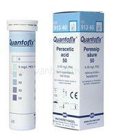 Quantofix, perazijnzuurtest, 5-50 mg/l perazijnzuur, 100 strips