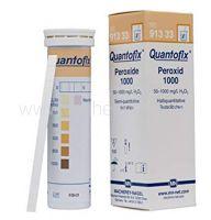 Quantofix, peroxidetest, 50-1.000mg/l, 100 strips