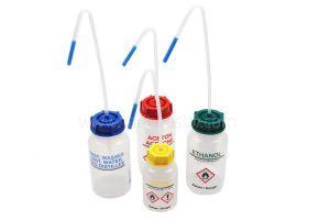Spuitfles ISOPROPANOL, LDPE kunststof, 500ml, + gele dop
